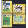 Argentina 1994 Gj 2674/7** Mint Arte Pintura Infantil Futbol