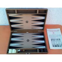 Backgammon Industria Argentina Marca Nis Modelo Mediano 70s