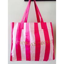 Victorias Secret Bolso Tote Cartera Reversible 2 Lados Orig