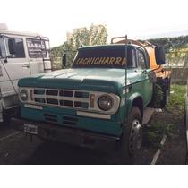 Camion Regador/atmosferico..dodge 500 C/ Gnc Año 1967..