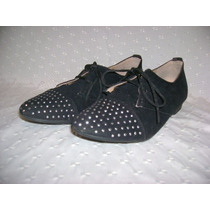 Zapatos Lady Comfort Con Tachas N° 36