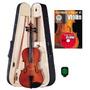 Violin Estudio V Medidas Con Estuche Accesorios Dvd Envios