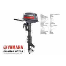 Yamaha Motor Fuera De Borda 2 Tiempos E8dmhl En Motolandia!