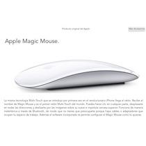 Magic Mouse Mb829ll/a Bluetooth Como Nuevo Sin Detalles