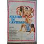 Afiche Cine Argentino Seguro Castidad 100x70 Erotico