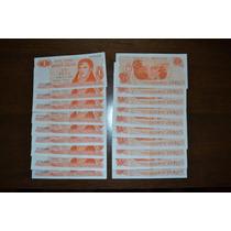 Billetes Antiguos $ 1 - Ley 18.188 (años 1973 / 1974)