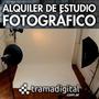 Estudio Fotografico, Promo 2 Hs A $ 250.- Con Equipamiento