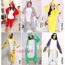Kigurumi Pijama Animales, Pikachu, Stich, Panda, Oso, Totoro