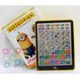Tablet Infantíl Minions Didáctica Interactiva Bilingue Piano