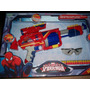 Pistola Lanza Dardo De Spider-man Con Anteojos Protector
