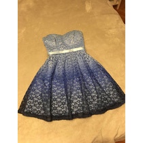 Vestido Fiesta Teens. Talle Small, Impecable.