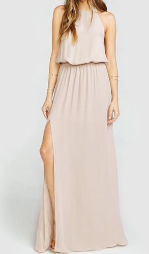 Vestidos para mujer Limonni LI213 Maxidress Fiesta