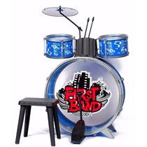 Bateria Musical Infantil Faydi First Band Musica Juguete