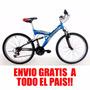 Bicicleta Mountain Mega Doble Susp. Envio S/ Cargo Trp Bikes