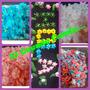 Accesorios Tortas Artesanales Letras,flores Figuras ,