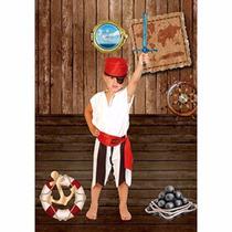 Disfraz De Pirata Nene Talles Candela