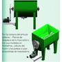 Planos Maquina Mezcladora Cemento Concreto Alimento Ganado +