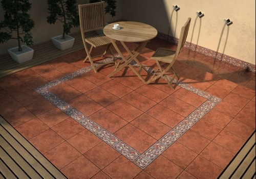 Ceramica san lorenzo 33x33 cotto toscano patio 105 eyxv6 for Pisos de patio