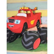 Piñatas De Autos, Camiones. Chuck, Blaze Machines, Motos