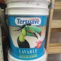 Lavable Revestimiento Estirenado Eggshell X 10 Lts Tersuave