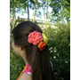 Flores Tejidas A Crochet X Unidade De 6 Cm Imperdibles