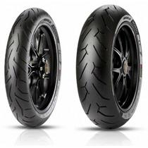 Juego Cubiertas Pirelli Diablo Rosso Yamaha Fz 16 Fz16 Nsr
