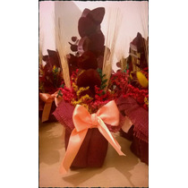 Centros De Mesa, Souvenirs, Flores Secas, Fiesta Casamiento