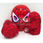 Puños Hombre Araña Spiderman Original Máscara Luz Led Brilla