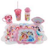 Set Kit Disney Princesas Taza + Cub + Plato + Bowl + Individ