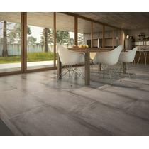 Porcelanato Simil Cemento Gris San Pietro 52x105 - 1ra