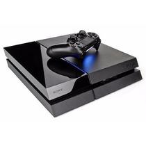 Playstation 4 Ps4 Negra 500 Gb Cuh-1115a Garantia Oficial
