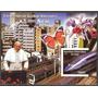2005 Congo / Japón Juan Pablo 2do Flores Block Mint Oferta !