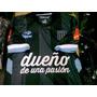 Camiseta Arquero Racing Saja Negra Blanca 2013 2014