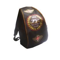 Mochila Porta Casco Impermeable Apliques Tourist Trophy