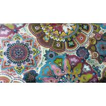 Almohadon Funda-50×50 Mandala- Indu-tela Importada