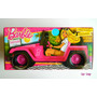 Auto Jeep Safari Fun Cabriolet Barbie Miniplay Stickers Sipi