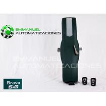 Kit Automatización Para Portón Levadizo A Torsión Bravo Seg