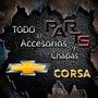 Moldura Guardabarro Tras. 3/5 Pts Chevrolet Corsa Y Mas...