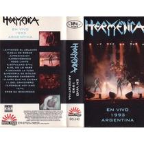 Vhs Hermetica En Vivo En Argentina 1993