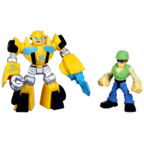Transformers Rescue Bots Bumblebee & Graham Burns Hasbro