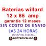 Bateria Autos 12x65 Ub 620 Peugeot 206-207-vw Gol-c3-corsa