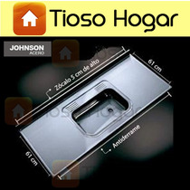 Mesada Johnson Acero Inoxidable De 120 X 61cm Bacha Simple