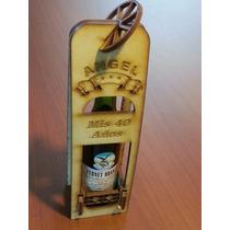 10 Cajitas Porta Fernet Souvenir Mdf Láser, Con La Botella!!