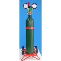Tubo Nitrogeno 1/2 Mt3 + Regulador Alta Marca Liga Valr 377