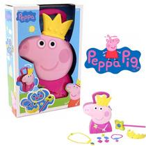 Valija Maletin Peppa Pig Set Princesa Accesorios Tapimovil