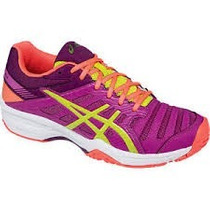 Zapatillas Asics Gel Solution Slam3 Tenis Padel Voley Indoor
