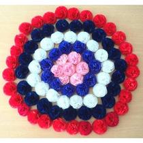 Bolsa Con 50 Flores De Papel De 5 Cm