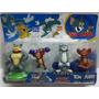 Blister Figuras De Tom Y Jerry (4 Muñecos) 10 Cm Aprox