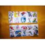 Dos Planchas De Sticker Antiguas De Superheroes