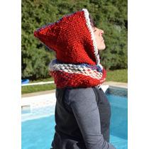 Capucha Telar/tejidos Artesanales/capita Telar/crochet